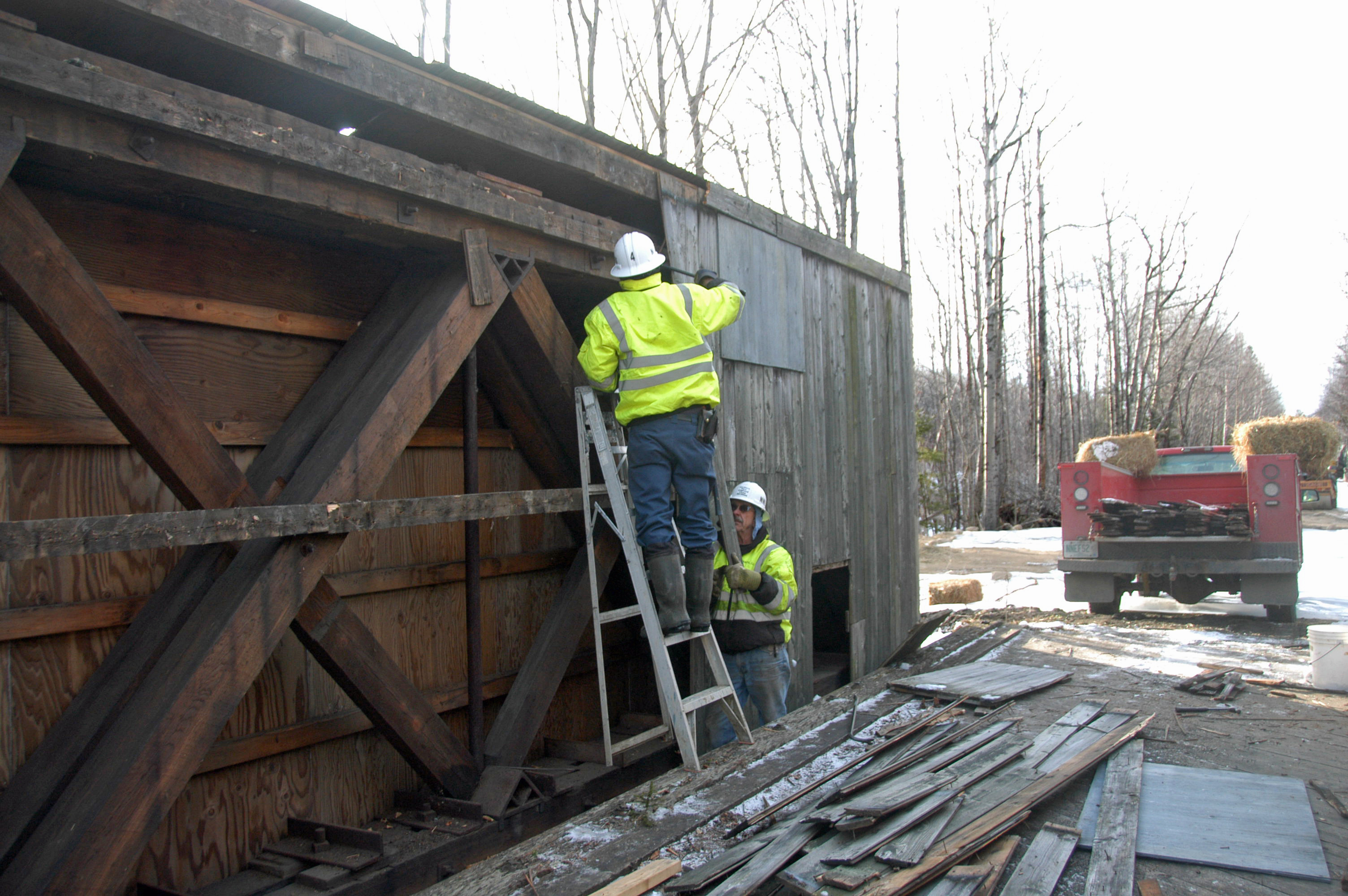 Snyder Brook Pony Truss Bridge A New Chapter Friends Of The