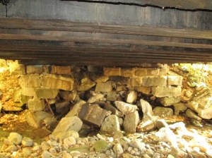 West Abutment Sep 2014
